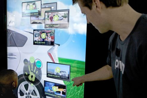 Image 2 for Toyota Multi-Touch Vision Wall 2011