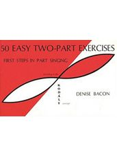 50 Easy Two Part Exercises