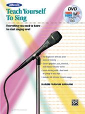 Alfred's Teach Yourself to Sing (Book/DVD)
