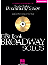 First Book of Broadway Solos, The (Mezzo Soprano CD Only)