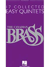 17 Collected Easy Quintets (Trombone)