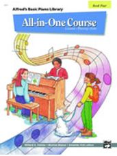 Alfred's All In One Lesson-Theory-Solo Book 4