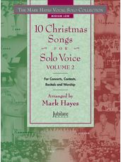 10 Christmas Songs for Solo Voice Volume 2 (Book/CD)