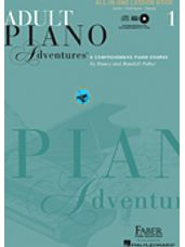 Adult Piano Adventures All-In-One Lesson Book 1 (with CD)
