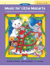 Christmas Fun Book 4 Music for Little Mozarts