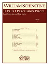 17 Plus 1 Percussion Pieces for Contest