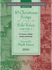 10 Christmas Songs for Solo Voice Volume 2 (Book Only)