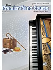Alfred's Premier Piano Course: Jazz, Rags & Blues Book 6