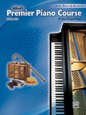 Alfred's Premier Piano Course: Jazz, Rags & Blues Book 5