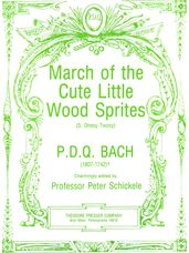 March of the Cute Little Wood Sprites Full Score and Parts