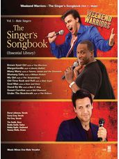 Singer's Songbook, Vol. 1 - Male (Book and CD)