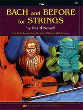 Bach And Before For Strings (Viola)