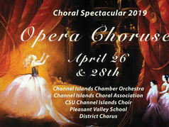 """Channel Islands Chamber Orchestra Concert """"Opera Choruses"""""""
